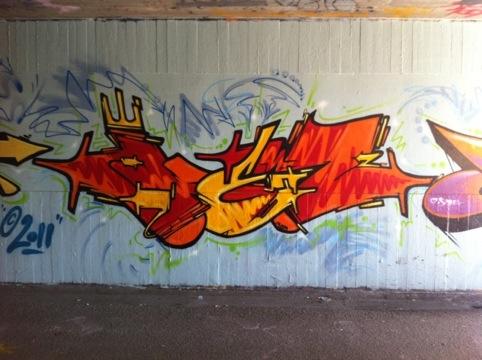 Graffiti galleri i Kolding