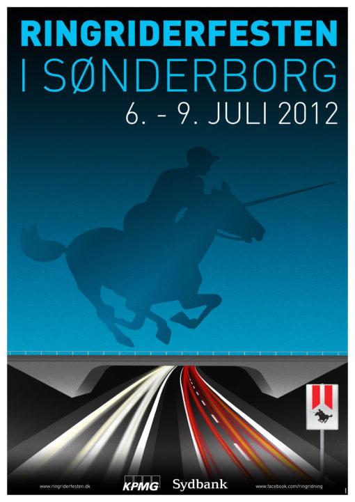 Sønderborg Ringridning plakat 2012