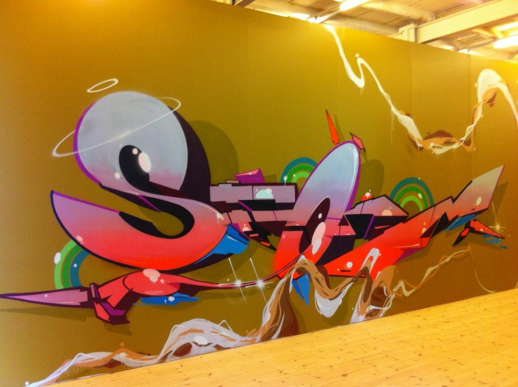 Storm - Street Art