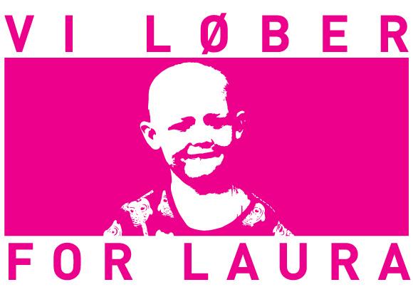 Vi Løber For Laura Logo