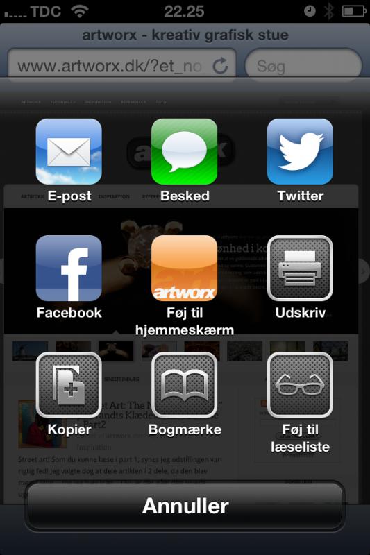 artworx - Nem branding af dit firma på Apple home screen