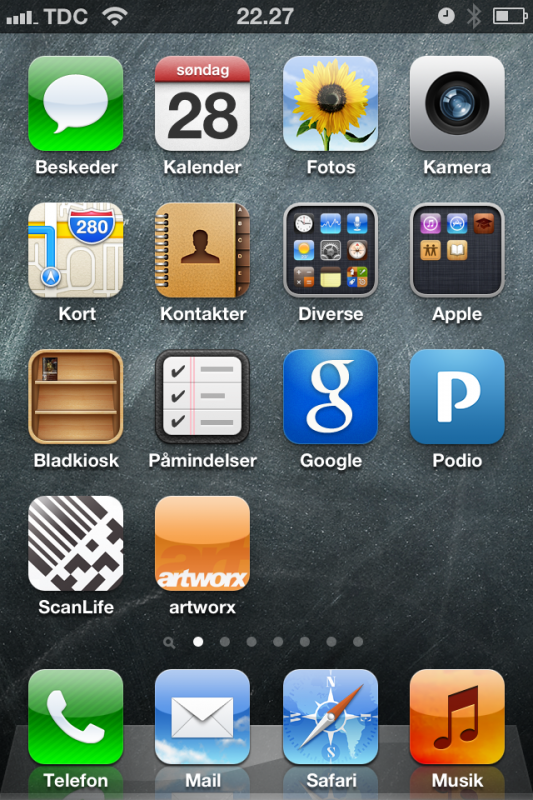 artworx - Nem branding af dit firma på Apple home screen